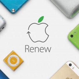 Quand Apple fait dans le recyclage