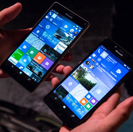 Présentation du Microsoft Lumia 950 et 950 XL